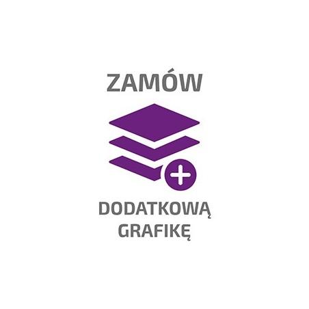 Grafika do ścianki tekstylnej WAVELINE ŁUKOWA PIONOWA