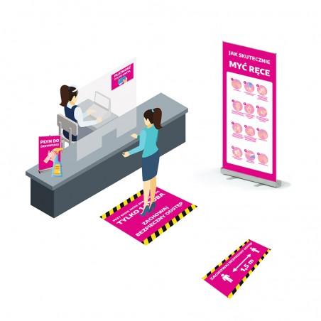 Zestaw informacyjny do sklepu lub punktu usługowego -...