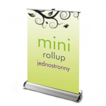 Roll up MINI jednostronny nabiurkowy