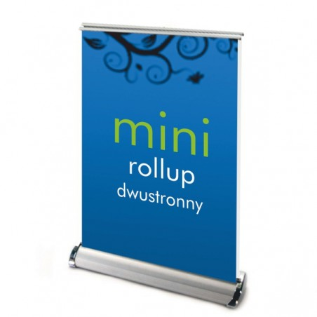 Roll up MINI dwustronny nabiurkowy