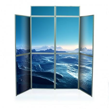 Ścianka segmentowa 8 paneli z fryzem
